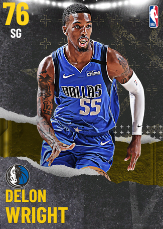 Delon Wright gold card