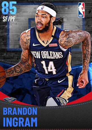 Brandon Ingram sapphire card