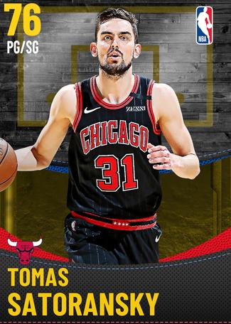Tomas Satoransky gold card