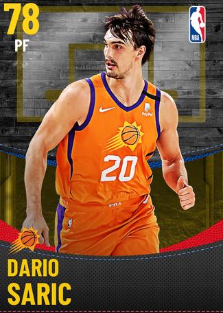 Dario Saric gold card