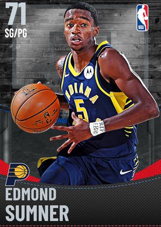 Edmond Sumner silver card
