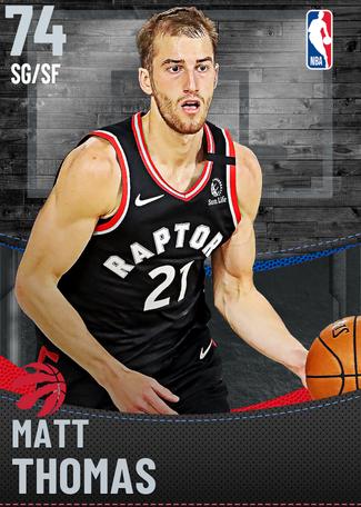 Matt Thomas silver card