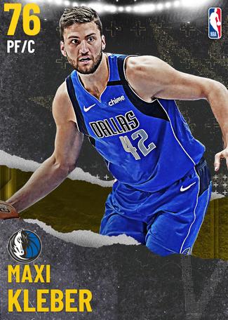 Maxi Kleber gold card