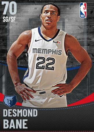 Desmond Bane silver card