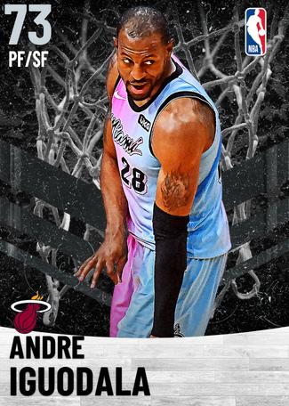 Andre Iguodala silver card