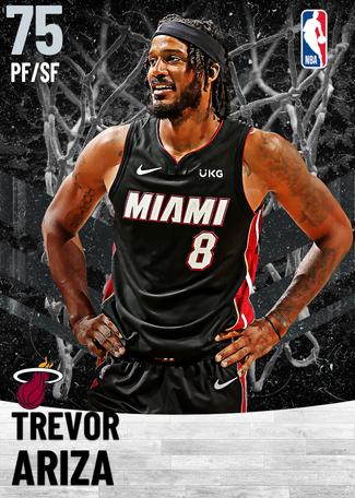 Trevor Ariza silver card