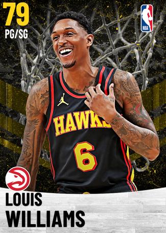 Louis Williams gold card