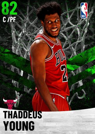 Thaddeus Young emerald card