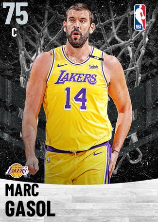 Marc Gasol silver card