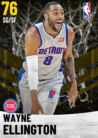 Wayne Ellington gold card