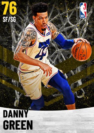 Danny Green gold card