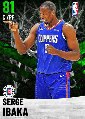 Serge Ibaka emerald card