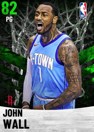 John Wall emerald card