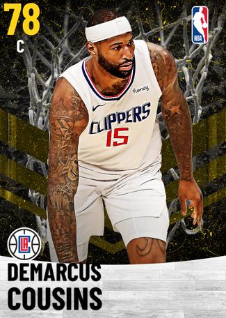 DeMarcus Cousins gold card