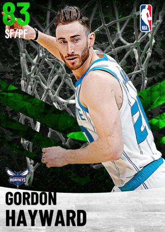 Gordon Hayward emerald card