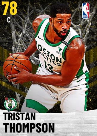 Tristan Thompson gold card