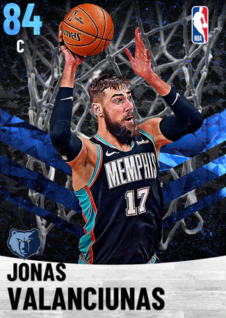 Jonas Valanciunas sapphire card