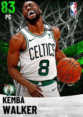 Kemba Walker emerald card