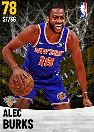 Alec Burks gold card