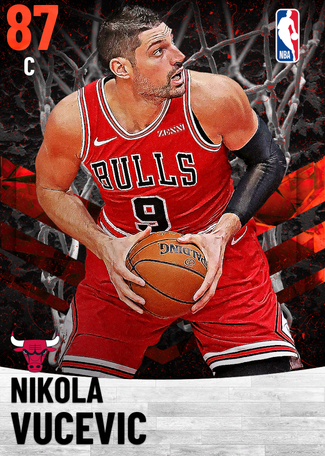 Nikola Vucevic ruby card