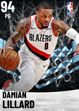 Damian Lillard diamond card