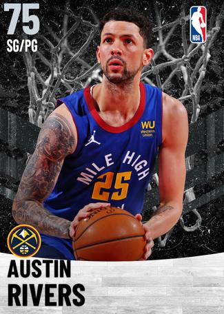 Austin Rivers silver card