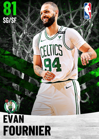 Evan Fournier emerald card