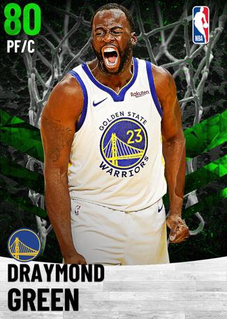 Draymond Green emerald card