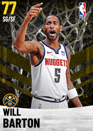 Will Barton gold card