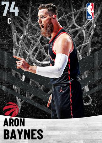 Aron Baynes silver card