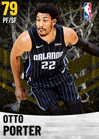 Otto Porter gold card