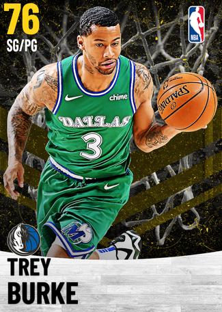 Trey Burke gold card