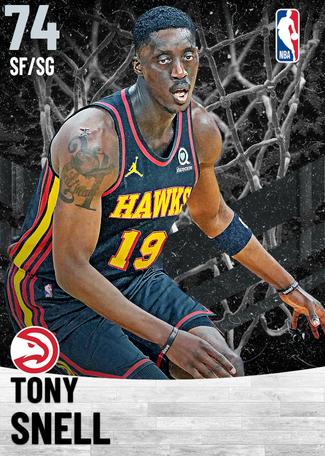 Tony Snell silver card