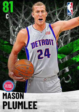 Mason Plumlee emerald card