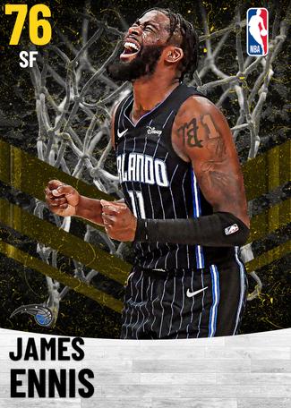 James Ennis gold card