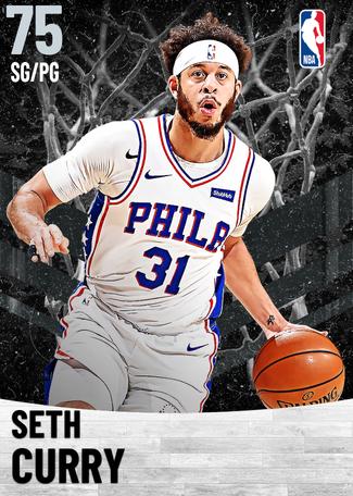 Seth Curry silver card