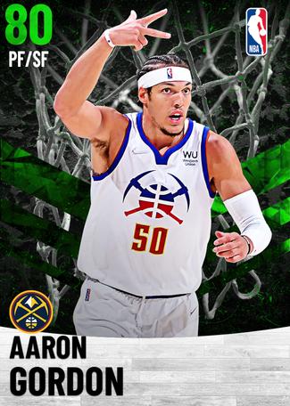Aaron Gordon emerald card