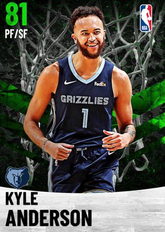 Kyle Anderson emerald card