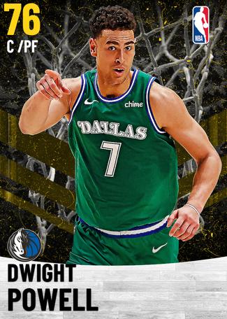 Dwight Powell gold card