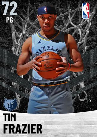 Tim Frazier silver card