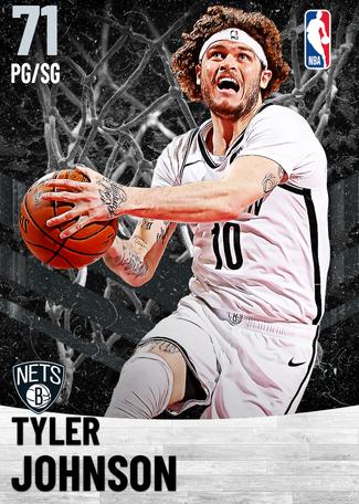 Tyler Johnson silver card