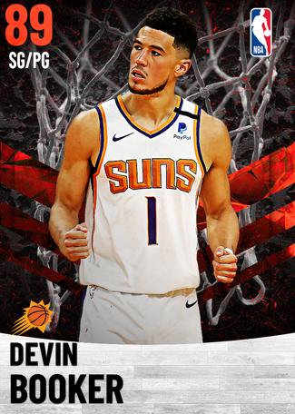 Devin Booker ruby card