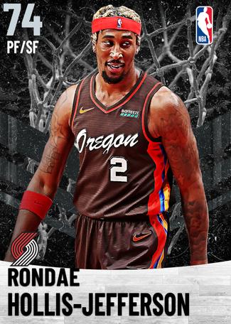 Rondae Hollis-Jefferson silver card