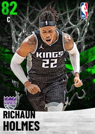 Richaun Holmes emerald card