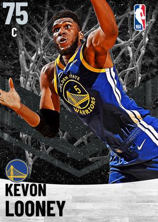 Kevon Looney silver card