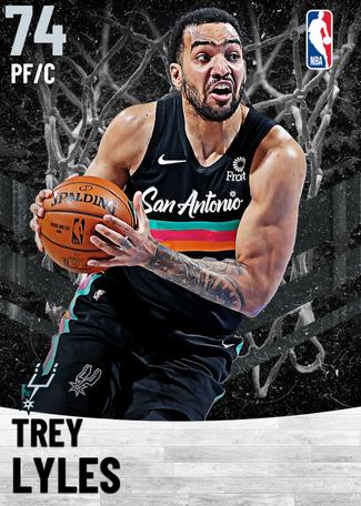 Trey Lyles silver card