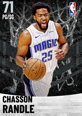 Chasson Randle silver card