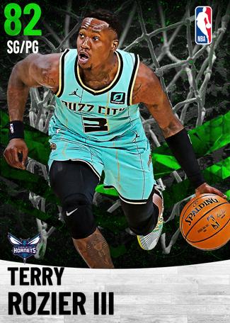 Terry Rozier III emerald card