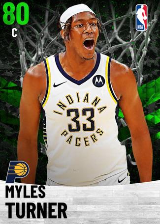 Myles Turner emerald card