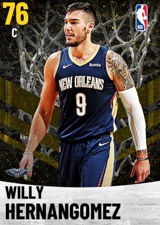 Willy Hernangomez gold card